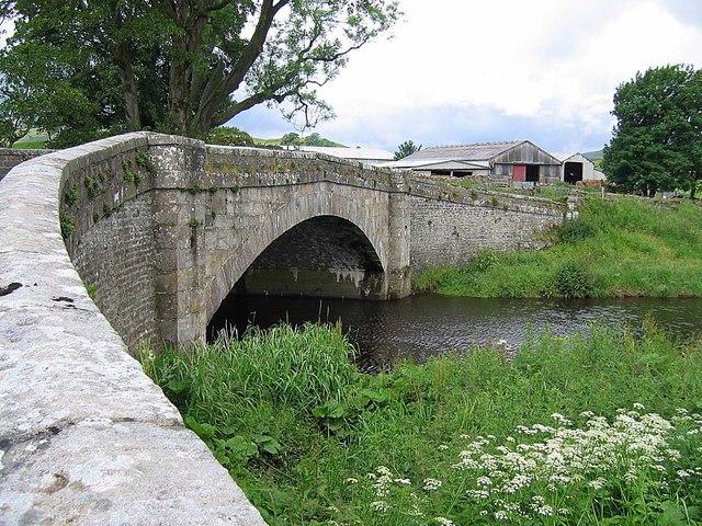 Appersett: Bridge over Widdale Beck