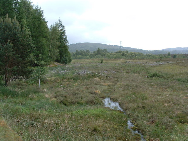 View from the start of the Minigaig