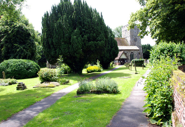 The parish church, Sturry, Kent