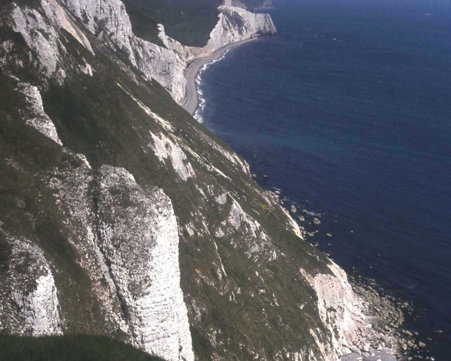 Cliffs at White Nothe