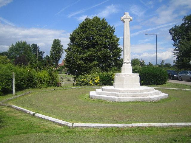 Birch Green: The War Memorial