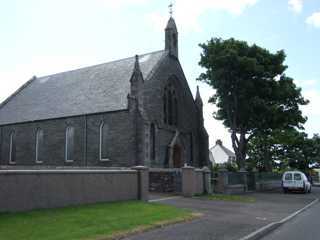 Church building opposite the Police Station