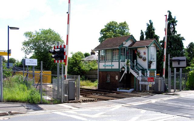 Signal box,  Sturry, Kent