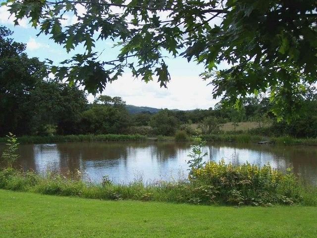 Fishing Pool Near Hughley