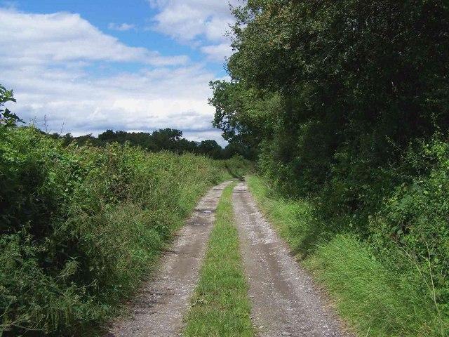 Track Near Hughley