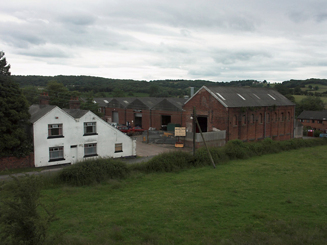 Factory units at Brookhouses
