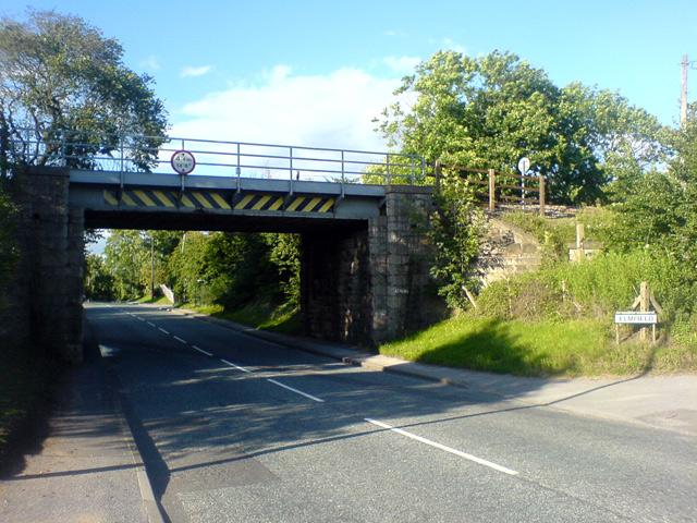 Railway Bridge over A60