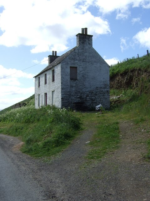 A disused harbour building, Lybster