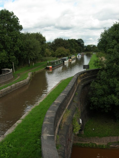 Pool Lock Aqueduct, Trent and Mersey Canal