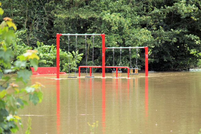 Pinfold playground flooded