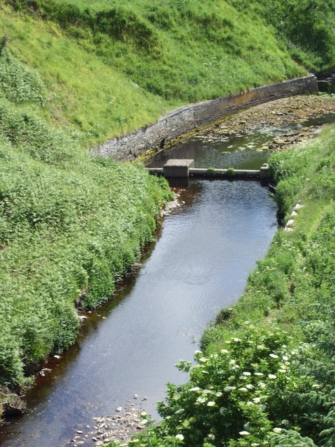 Looking downstream from Invershore Bridge