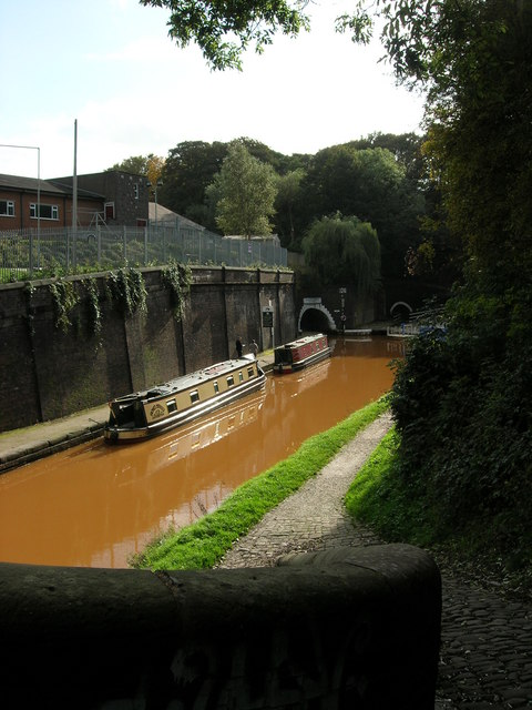 Two Harecastle Tunnels
