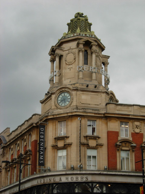Arding & Hobbs Clock Tower, Clapham Junction