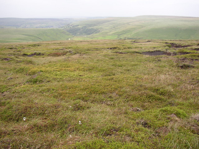 Descending Birk Moss, Marsden
