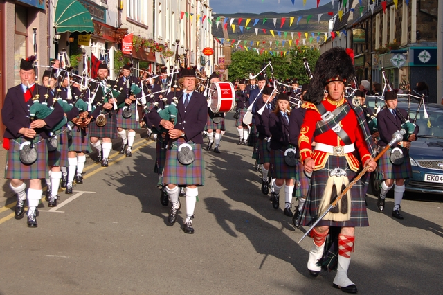 The Isle of Skye Pipe Band Festival