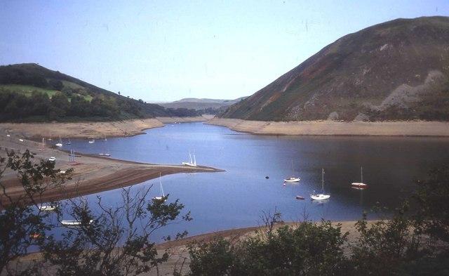The Sailing Club at Llyn Clywedog Reservoir