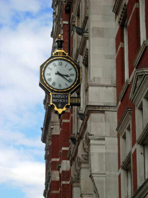 Harvey Nichols Clock