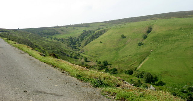 The head of the tributary cwm