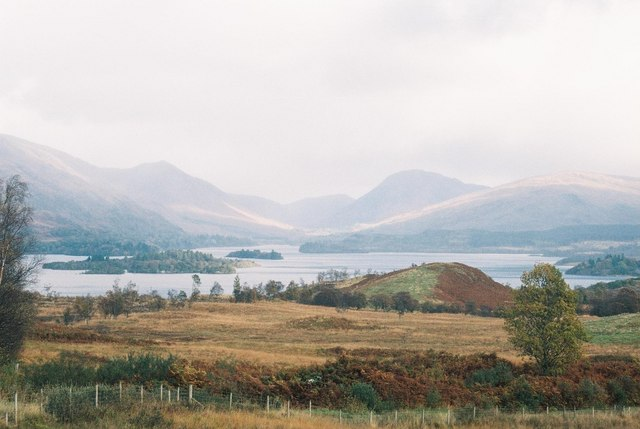 View of Loch Awe islands