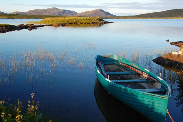 Eilean Chreamh in Loch Dun na Cillie