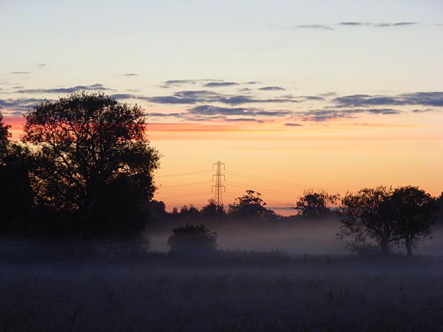 Dawn near Sherfield on Loddon
