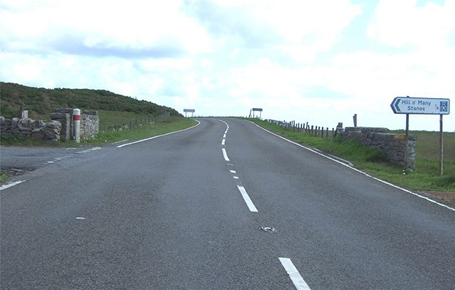 Junction for Hill o' Many Stanes