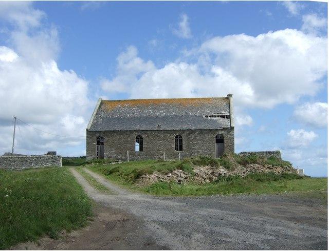 An older ecclesiastic building at Bruan