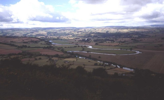 Merbach Hill and Wye meander