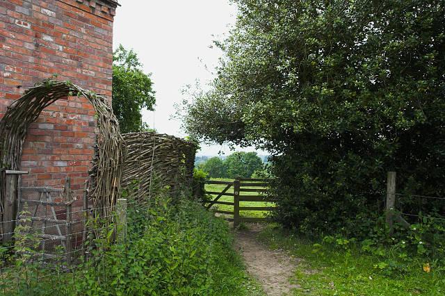 Gate at Huntsfield Cottage