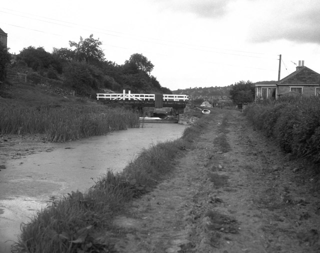 Bathampton Swing Bridge, Kennet and Avon Canal