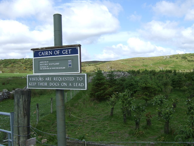 Footpath to Cairn of Get