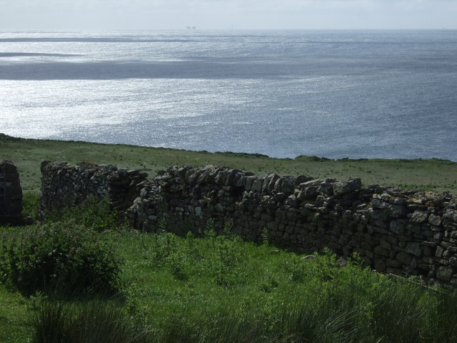 A view towards a Moray Firth oil production installation