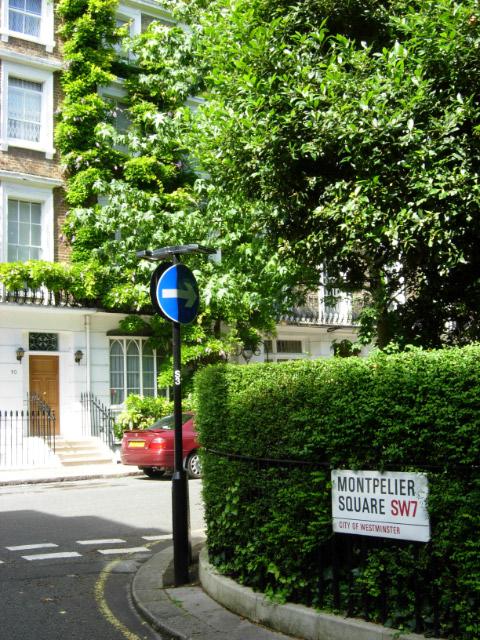 Montpelier Square, Knightsbridge