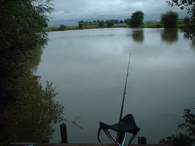 Coarse fishing water at Burton