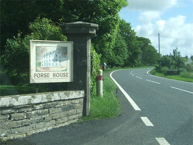 Forse House sign