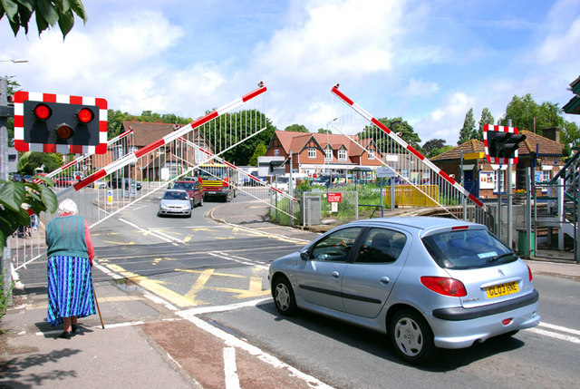 The level crossing, Sturry, Kent