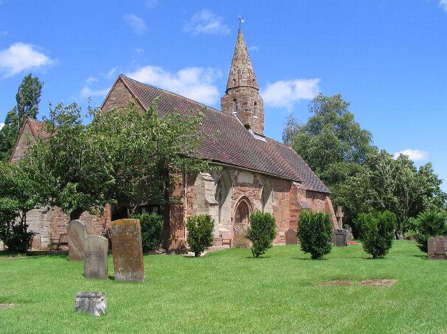 Church of St John the Baptist, Baginton (view NE)