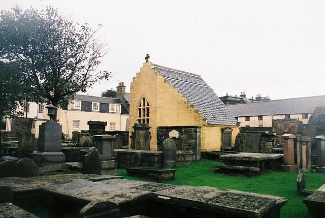 Banff: remains of mediaeval church