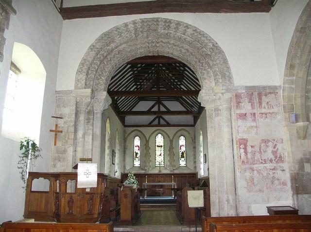 Interior, St Michael's Church