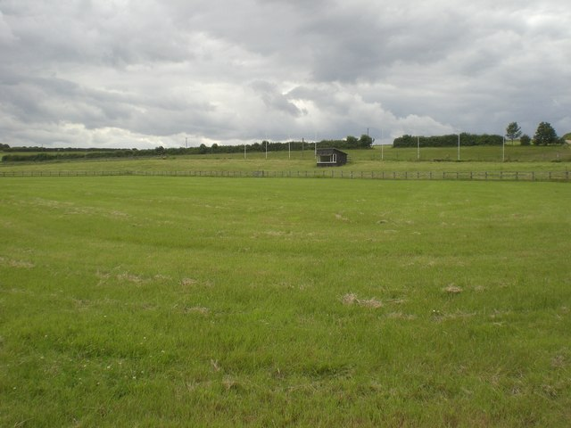 Show jumping ground, Sussex Farm