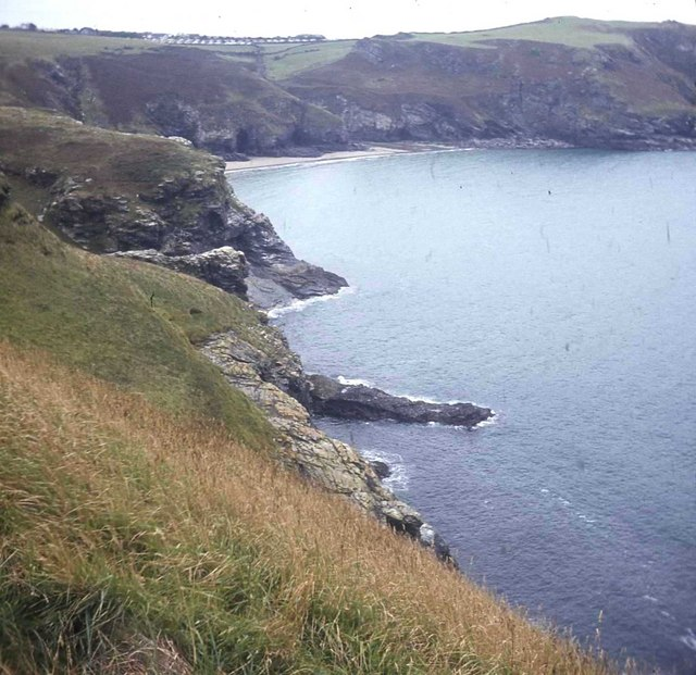 Cliffs north of Bossiney Haven