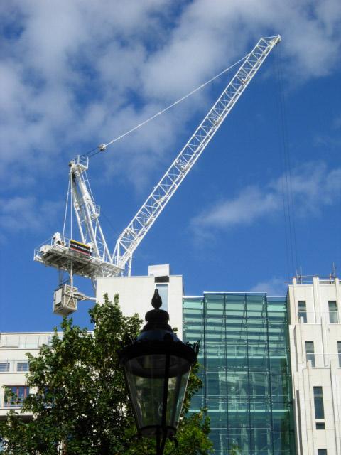 Tower Crane in Knightsbridge