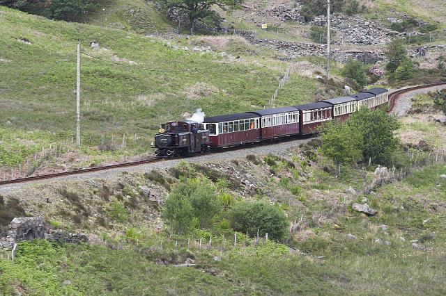 Ffestiniog Railway near Moelwyn Mine