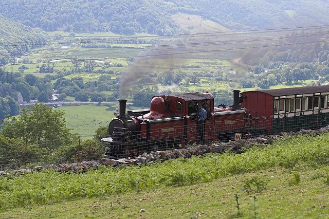 Ffestiniog Railway near Dduallt