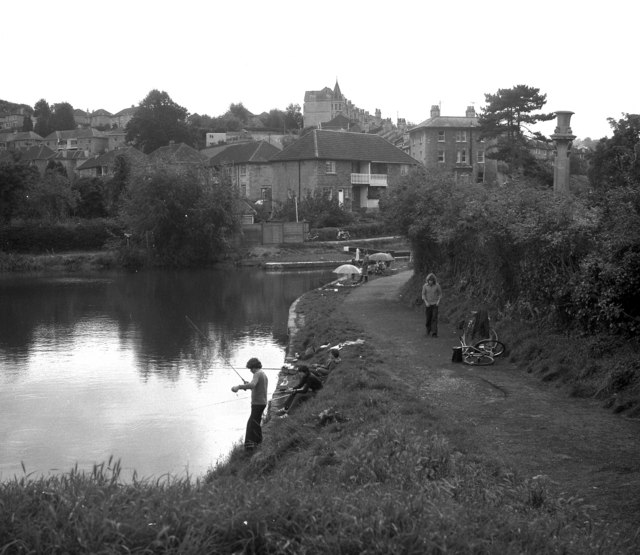 Below Lock No 12, Kennet and Avon Canal, Bath