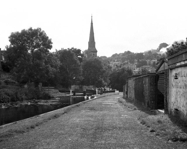 Wash House Lock No 10, Kennet and Avon Canal, Bath