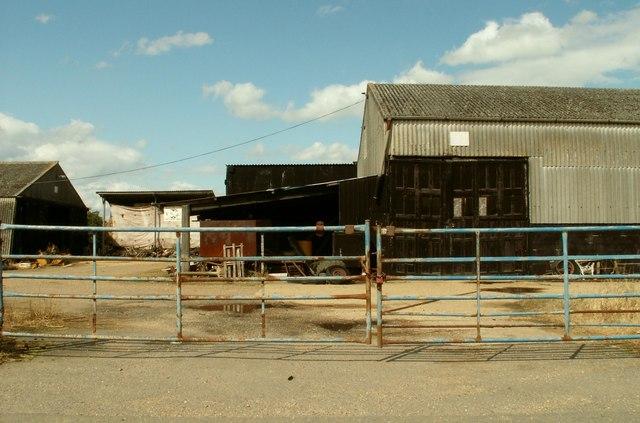 Part of Church Farm, as seen from Church Street