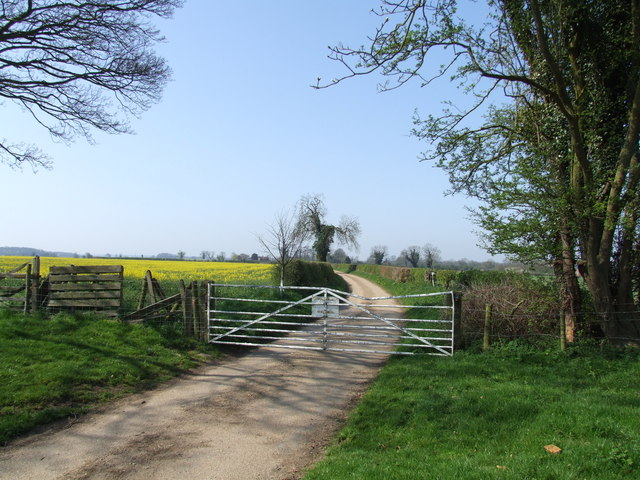 Gated Country Road, Claxby Pluckacre