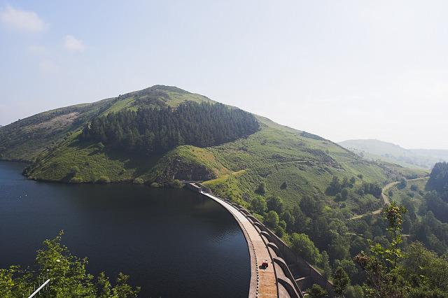 Llyn Clywedog dam