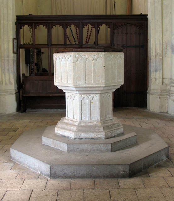 St Michael & All Angels, Barton Turf, Norfolk - Font